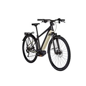 Kalkhoff Entice 5.B Tour - Vélo de trekking électrique - Diamant 500Wh beige/noir